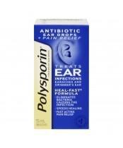 Biosense Clinic Polysporin Plus Pain Ear Drops 15ml
