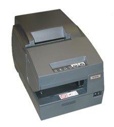 (Epson C283042 TM-U675-042 Dot Matrix Receipt, Slip and Validation Printer, 9 Pin, Serial Interface, MICR, Autocutter, Dark Gray)