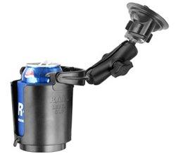 (RAM Cup Holder No Foam Suction Mount (RAM-B-132SU-MC1))