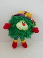 Vintage Rainbow Brite Green Sprite Plush Hateful (Green Sprite)