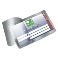 Self-Laminating Credit Card Pouches (2-1/8 x 3-3/8) 100/bx