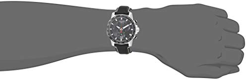 Tissot mens Supersport Stainless Steel Casual Watch Black T1256171605100