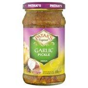 Patak's Original Garlic Relish 10oz (3 Packages)