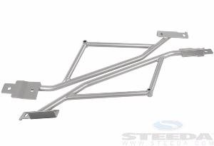 STEEDA AUTOSPORTS 555-5754 Support Brace - IRS Subframe 15-16 Mustang ()
