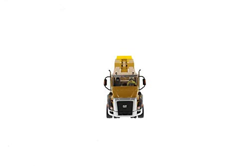 Diecast Masters Cat Caterpillar CT660 Day Cab with XL 120 Low-Profile HDG Lowboy Trailer and Operator Core Classics Series 1/50 Diecast Model 85503 -