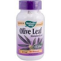 Natures Way Olive Leaf Standardized Capsule - 60 per pack - 3 packs per -