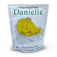Danielle Premium Hand Cooked Chips Honey Banana (Pack of 2) by Danielle Chips