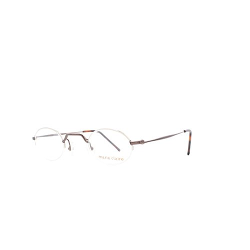 Marie Claire 8180 821 Bronze Oval Eyeglasses Frame For Men and - Claire Glasses Marie