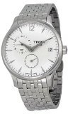 Tissot Men's Quartz Stainless Steel Casual Watch, Color:Silver-Toned (Model: T0636391103700)