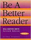 BE A BETTER READER: LEVEL A SE 1997C.