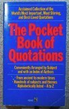 Pocket Book of Quotations, Henry Davidoff, 0671603868