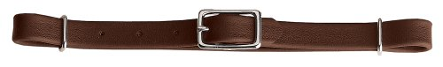 Weaver Leather Curb Strap - Weaver Leather Brahma Webb Straight Curb Strap, Brown