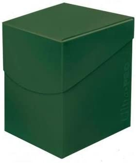 Ultra Pro E-85687 85687 Eclipse Pro 100+ Caja de Cubierta, Verde Bosque, Adultos Unisex, Forest Green: Amazon.es: Juguetes y juegos