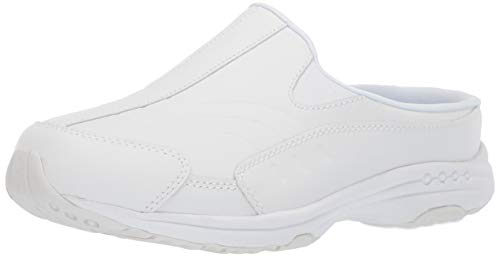 Easy Spirit Women's TOURGUIDE Mule, White, 9.5 M US