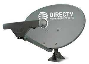 READY TO INSTALL PACKAGE : Directv HD SATELLITE DISH SWM5 LNB + RG6 COAXIAL CABLES INCLUDED Ka/ku Slim Line Dish Antenna SL5 AU9 SINGLE OUTPUT W/ 4 PORT SPLITTER, 21V - Slimline Dish Directv