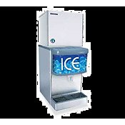 Hoshizaki KMD-410MAH 22'' Energy Star Qualified Ice Maker Modular With 440 lbs. Daily Ice Production Crescent Ice Cubes Stainless Steel Evaporator CycleSaver Design And EverCheck Ale by Hoshizaki