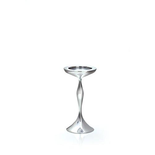Nambe Bella Candlestick Pillar, 8-Inch