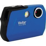 Vivitar Vivicam 8.1 Megapixel Digital Camera, Blue