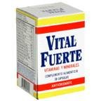 Vital Fuerte Vitamins And Minerals – Capsules 30 CT (Pack of 6)