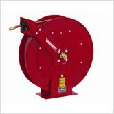 0 75 X 50  250 Psi  Heavy Industrial Air   Water Reel With Hose By Reelcraft