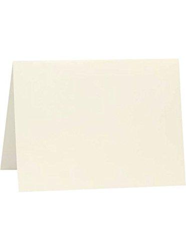 #17 Mini Folded Card (2 9/16 x 3 9/16) - Natural Linen (50 Qty.)