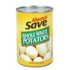 Always Save Whole White Potatos
