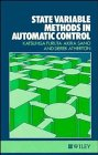 State Variable Methods in Automatic Control, Furuta, Katsuhisa and Sano, Akira, 0471918776