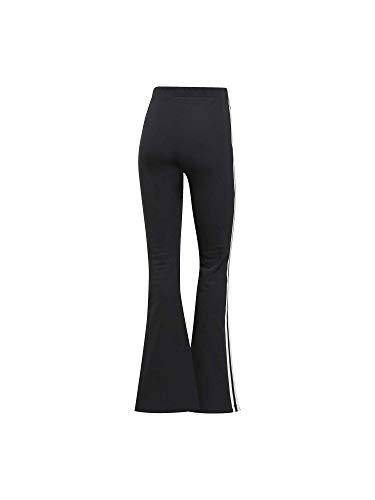 Pantalón Negro Mujer Tp Flared Adidas qpTf0