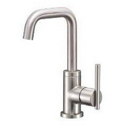 Danze D233158BN Parma Trimline Single Handle Lavatory Faucet with Side Mount Handle, Brushed Nickel ()