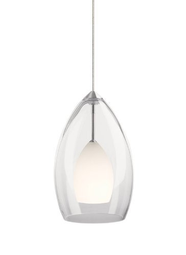 MO2-Inner Fire Pend frost, sn by Tech Lighting