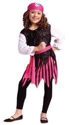Child Costumes Pirate Punky (Caribbean Pirate Girl Child Costume Size)