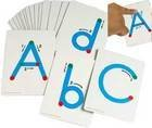 Textured Alphabet Touch & Trace Letters - Both Uppercase & Lowercase