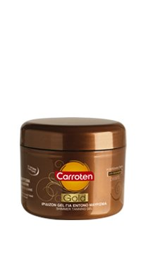 Carroten Gold Shimmer Tanning Gel