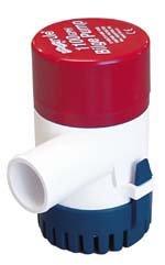 Rule 27D 1100 GPH Marine Bilge Pump, Non-Automatic, Submersi