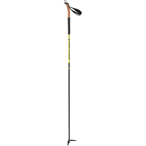 Fischer Alpattack Race Ski Poles Black/Yellow, One Size ()