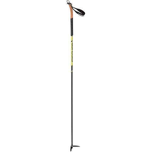 Fischer Alpattack Race Ski Poles Black/Yellow, One Size
