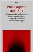 Philosophie und Sex: Zeitgenössische Beiträge