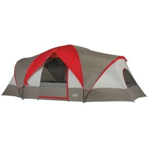 Wenzel GREAT BASIN 10 PERSON 3 ROOM TENT 18' Polyethylene Sleeve