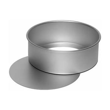 Amazon Com Ateco Aluminum Cake Pan With Removable Bottom