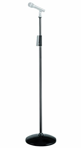 Manfrotto 622B Aluminum Microphone Stand (Black)