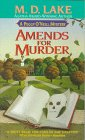 Amends for Murder (Peggy O'Neill Mysteries, Book 1)