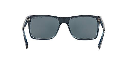Sunglasses Exchange Armani AX 4016 805187 BLACK/TRANSP. BLUE GREY by A|X Armani Exchange (Image #6)