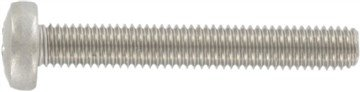 (2000pcs) DIN 7985 M4X14 Cross Recessed Raised Cheese Head Screws A2 Stainless Steel, Ships FREE in USA by Aspen Fasteners, ASSP7985204-14