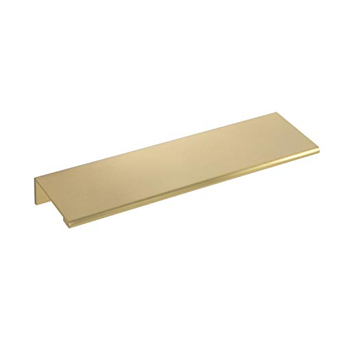 #3154-6 in. CKP Brand Edge Pull, Brushed Gold