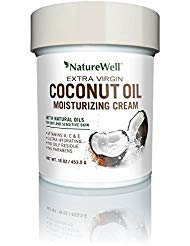 Oil Moisturizing Body Lotion - NatureWell Extra Virgin Coconut Oil Moisturizing Cream, 16 oz. Pack of 2