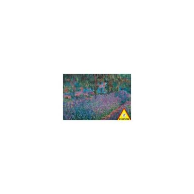 "Claude Monet Garden 1000 Piece Jigsaw Puzzle (Size 26.5"" X 17.4""): Toys & Games"