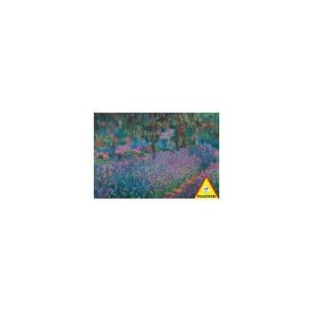"Claude Monet Garden 1000 Piece Jigsaw Puzzle (Size 26.5"" X 17.4"")"