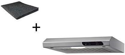 respekta DH540IXL+MI150KN - Campana extractora (50 cm, incluye filtro de carbón activo): Amazon.es: Grandes electrodomésticos