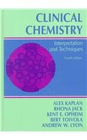 Clinical Chemistry: Interpretation and Techniques
