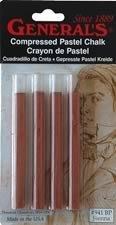 Compressed Sienna Sticks Pk/4
